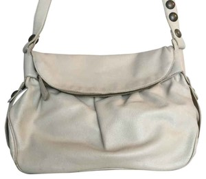 Marc Jacobs Leather Off White Beige Cross Body Bag