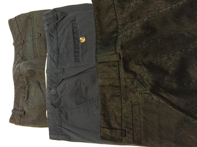 Worthington Relaxed Pants Black and blue