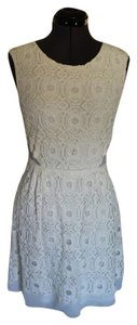 Kimchi Blue short dress White Cut Out Lace on Tradesy