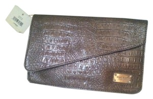 Nine West Tablet glossy taupe Clutch