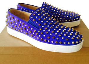 Christian Louboutin Violet Flats