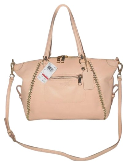 Preload https://item3.tradesy.com/images/coach-prairie-34339-whiplash-light-apricot-leather-satchel-5836522-0-5.jpg?width=440&height=440
