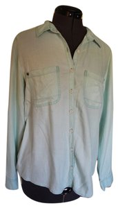 Nordstrom Button Down Shirt mint