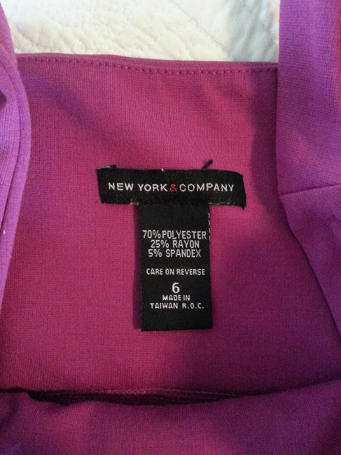 New York & Company Sheath Structured Fitted Dress Image 3