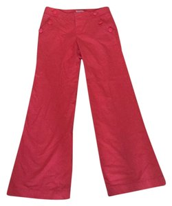 Lilly Pulitzer Wide Leg Pants Red