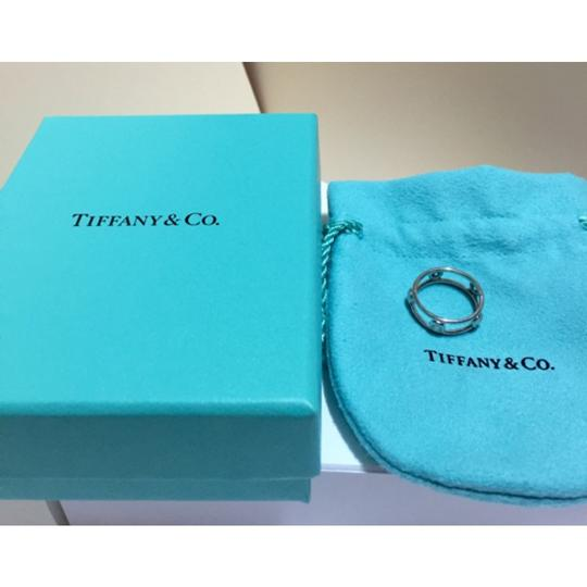 Tiffany & Co. Tiffany & Co / Elsa Peretti - PLATINUM Diamond by the Yard Ring - Size = 4 Image 3
