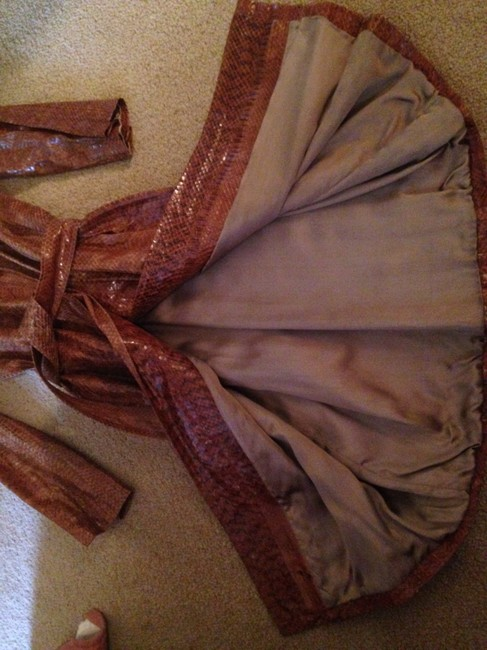 Other Real Snake Skin Trench Coat Image 6