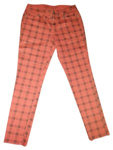 The Limited Plaid Cotton Skinny Jeans