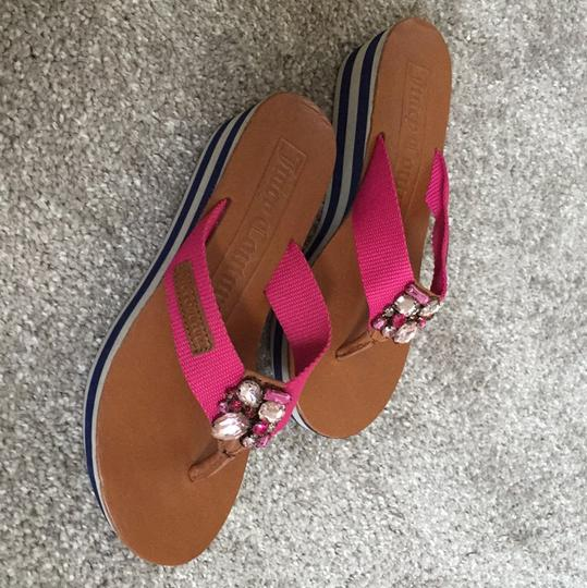 Juicy Couture pink Sandals