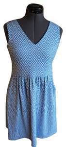 Alythea short dress Blue Pockets on Tradesy