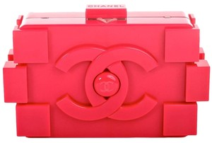 Chanel Fuchsia Clutch
