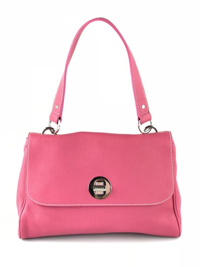 Preload https://item2.tradesy.com/images/tiffany-and-co-channing-pink-pebbled-leather-shoulder-bag-5838691-0-1.jpg?width=440&height=440
