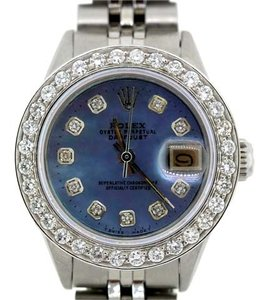 Rolex Ladies Rolex Datejust S/S Diamond Watch