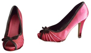 Charlotte Russe Heels Retro Pinup Pink Pumps
