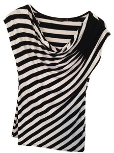 The Limited Top Black/White Stripe