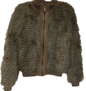 Vertigo Paris Faux Fur Jacket Fur Faux Fur Coat