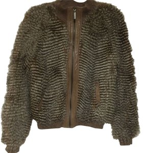 Vertigo Paris Faux Fur Faux Fur Jacket Fur Coat