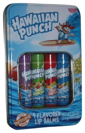 Hawaiian Punch 4 Flavored Lip Balms