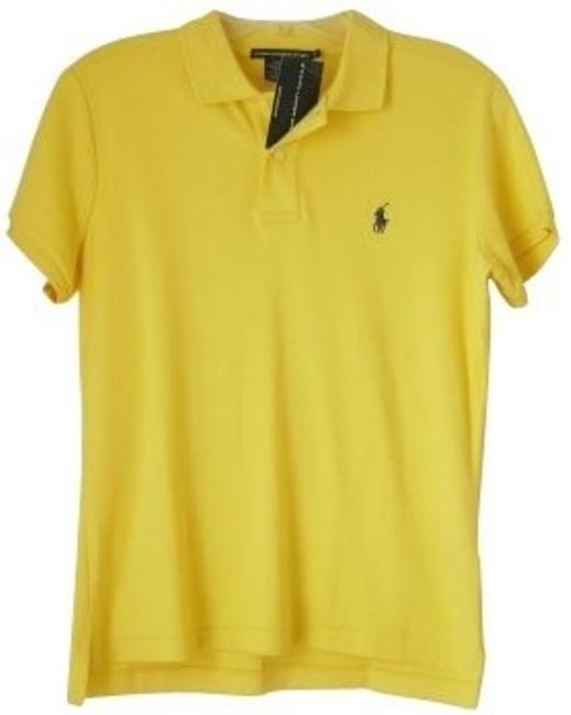 Preload https://img-static.tradesy.com/item/584/ralph-lauren-yellow-blouse-size-4-s-0-0-650-650.jpg