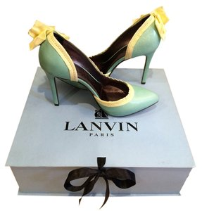 Lanvin Teal Pumps