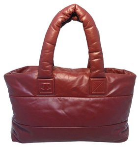 Chanel Cocoon Tote in Burgundy