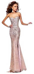 Sherri Hill Sequin Long Strapless Classy Pageant Prom Homecoming Glamorous Sparkle Dress