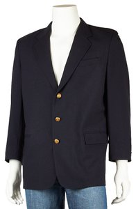 Tommy Hilfiger Wool Blue Men Navy Blue Blazer