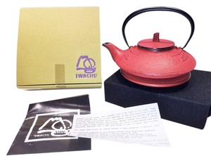 Tetsubin Cast Iron Teapot & Trivet by Iwachu; Dragonfly in Burnt Sienna [ Roxanne Anjou Closet ]