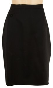 Joan & David Skirt Black