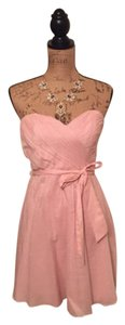 Express short dress Pale pink on Tradesy