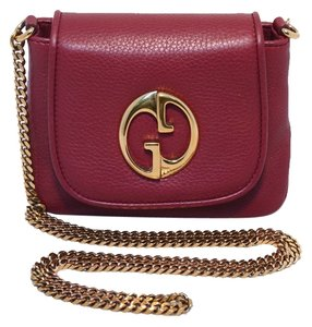 Gucci Mini Leather Mini Cross Body Bag