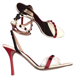 Valentino Rockstud Sandal Red Pumps