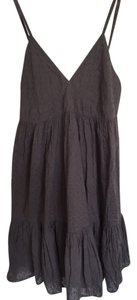 Zara short dress Grey on Tradesy