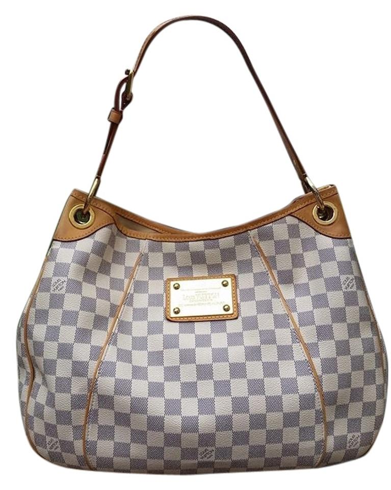 fe76ebb4216 Louis Vuitton Galleria Damier In Excellent Condition Includes Dustbag and  Lv Card Made In Usa Date Code Sd1099 Azur/White Leather Hobo Bag 44% off ...