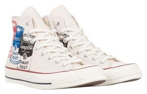 Converse Hightops Warhol Beige/Cream/White Athletic