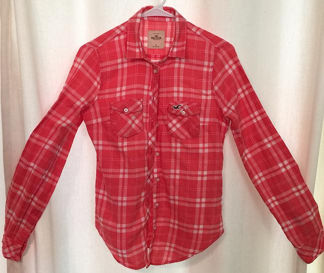 Hollister Plaid Comfortable Button Down Shirt