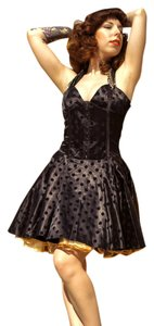 Voo Doo Vixen Pin Up Rockabilly Crinoline Dress