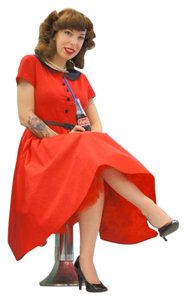 Queen of Holloway Rockabilly Pin Up Dress
