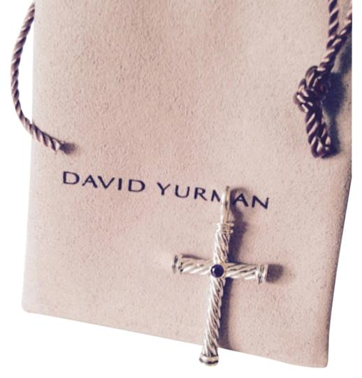 Preload https://item2.tradesy.com/images/david-yurman-purplesilver-cable-cross-necklace-5842876-0-0.jpg?width=440&height=440