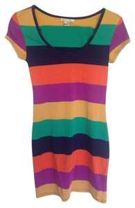 Derek Heart short dress Multicolored on Tradesy