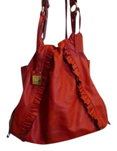 Jessica Simpson Leather Shoulder Bag