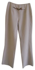 Sunset Blues Straight Pants Beige