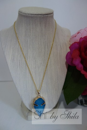 "Other ""Leona"" Natural Stone Necklace"