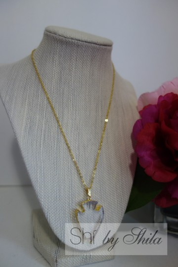 "Other ""Ophelia"" Clear Arrow Necklace"