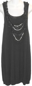 Nanette Lepore Knit Crystal Pearl Dress