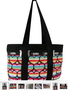 LeSportsac Fun Great Travel Durable Easy To Clean Comfortable To Carry Tote in Multi