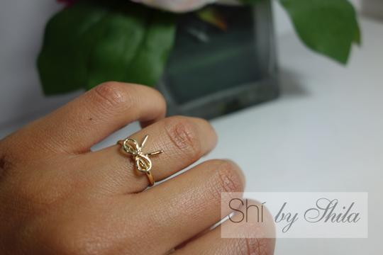 Other Gold Plated Bow Ring