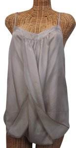 Beautiful People Silk Loose Fit Classic Top gray