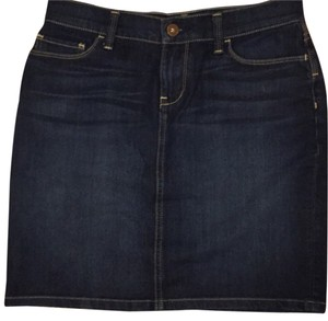 Banana Republic Mini Skirt Dark blue