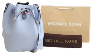 Michael Kors Bucketbag Blue Shoulder Bag